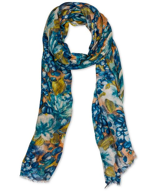Patricia Nash Blue Clay Scarf