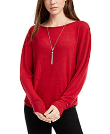 BCX Juniors' Ribbed Sweater