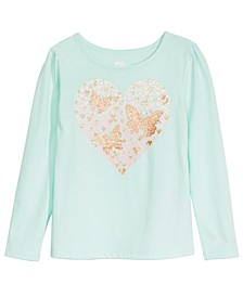 Toddler Girls Heart Butterflies T-Shirt, Created For Macy's