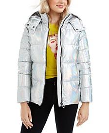 Diana Iridescent Puffer Jacket