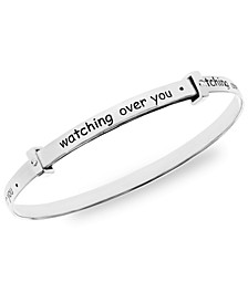 Children's Watch Over You Bangle in Sterling Silver 3-5 Years