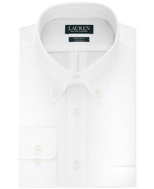 Lauren Ralph Lauren Men's Classic-Fit Solid Dress Shirt