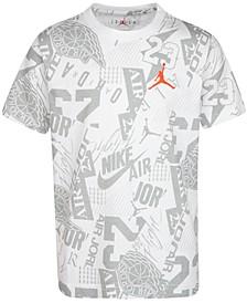 Big Boys Cotton Future Of Flight Printed T-Shirt