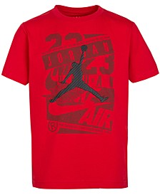 Big Boys Cotton Jumpman Graphic-Print T-Shirt