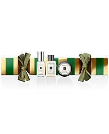 3-Pc. Green Christmas Cracker Gift Set