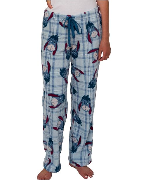 Disney Eeyore Soft Plush Pajama Pant, Online Only