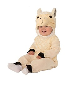 Baby Girls and Boys Llama Deluxe Costume