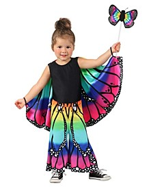Baby Girls Rainbow Butterfly Pants