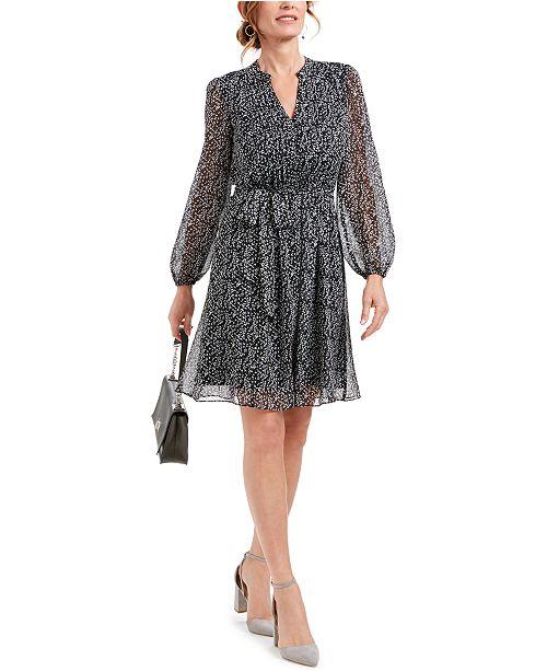 MSK Petite Chiffon Dress