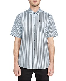 Men's Beasley Striped Short Sleeve Shirt
