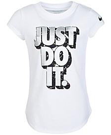 Toddler Girls Cotton Just Do It T-Shirt