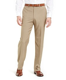 Men's Classic-Fit Solid Performance Dress Pants