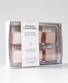 6-Pc. Exfoliating Sugar Cubes Holiday Set