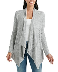 Cloud Jersey Open-Front Cardigan Sweater