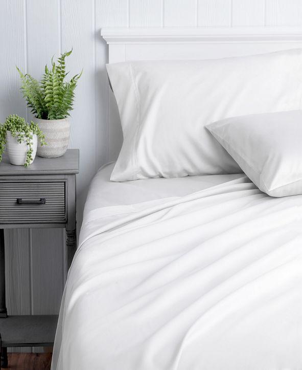 Welhome The Premium Cotton Sateen Full Sheet Set