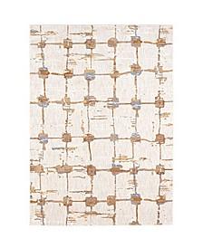 Artisan Mirage Brushed Gold 8' x 11' Area Rug