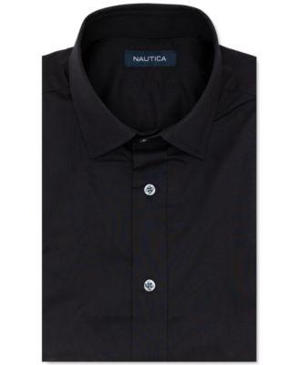 Nautica Mens Classic Fit Shirt Size 16 1//2 32-33 White