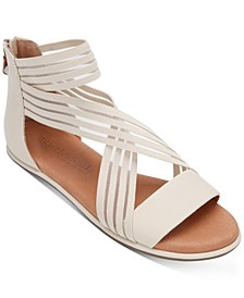 by Kenneth Cole Women's Break Elastic Stripe Sandals