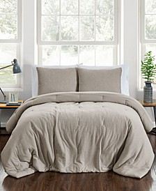 CLOSEOUT! Jersey 3-Pc. Full/Queen Comforter Set