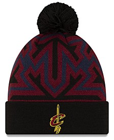 Cleveland Cavaliers Big Flake Pom Knit Hat