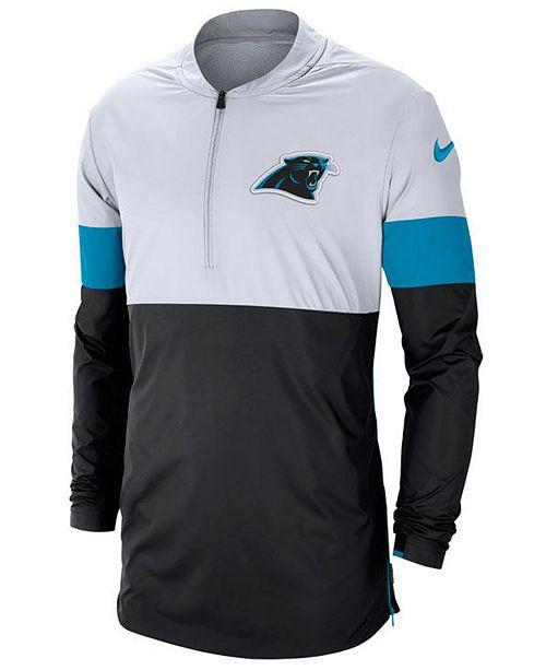 Nike Men's Carolina Panthers Lightweight Coaches Jacket