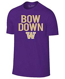 Retro Brand Men's Washington Huskies Slogan T-Shirt
