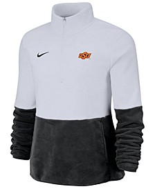 Women's Oklahoma State Cowboys Therma Long Sleeve Quarter-Zip Pullover