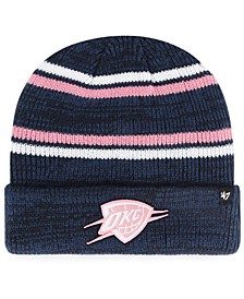 Oklahoma City Thunder Marled Stripe Cuff Knit Hat