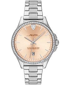 Women's Pilota Stainless Steel Bracelet Watch 38mm