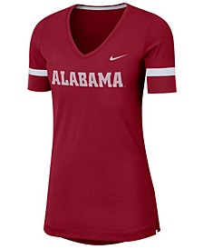 Women's Alabama Crimson Tide Fan V-Neck T-Shirt
