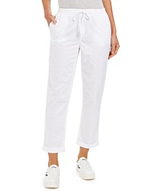 Petite Utility Pants, Created For Macy's