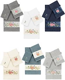 100% Turkish Cotton Rebecca Embellished Towels