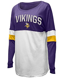 Women's Minnesota Vikings Boyfriend T-Shirt