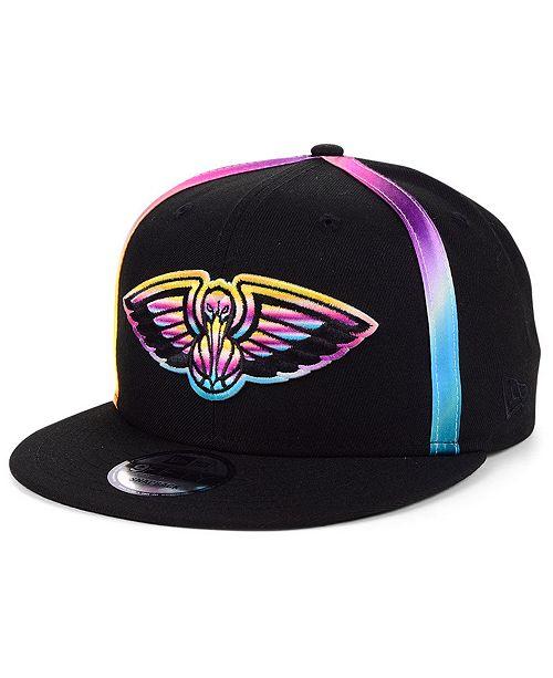 New Era New Orleans Pelicans Color Gazing Trucker 9FIFTY Snapback Cap