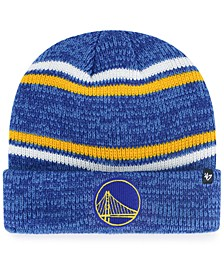 Golden State Warriors Marled Stripe Cuff Knit Hat