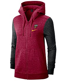 Women's Cleveland Cavaliers Full-Zip Club Fleece Jacket
