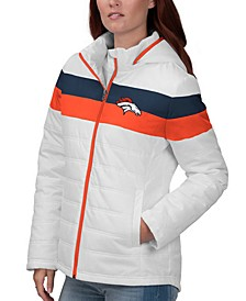 Women's Denver Broncos Tie Breaker Polyfill Jacket