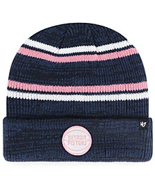 Detroit Pistons Marled Stripe Cuff Knit Hat