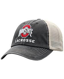 Ohio State Buckeyes Lacrosse Sport Drop Mesh Snapback Cap
