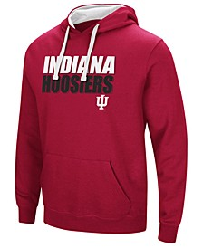 Men's Indiana Hoosiers Poly Performance Hooded Sweatshirt