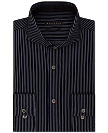 Men's Classic-Fit Stripe Dress Shirt