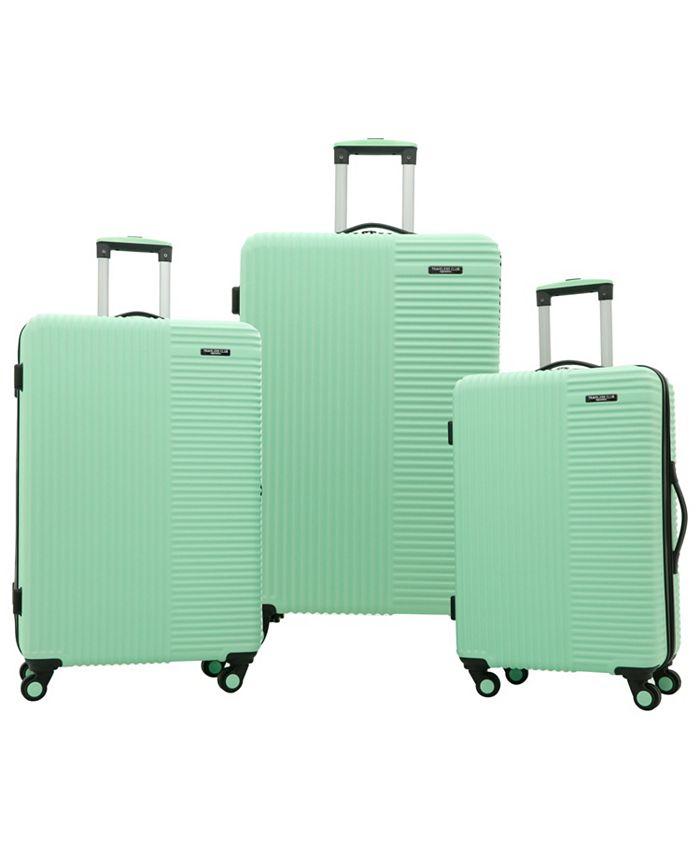 Travelers Club Basette 3-Piece Hardside Luggage Set