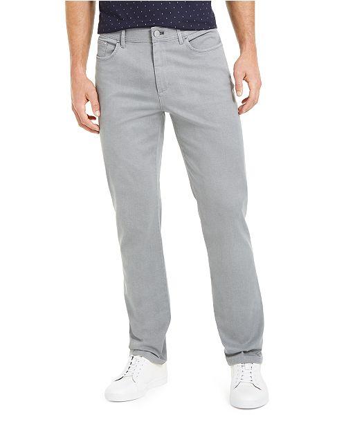 Calvin Klein Men's Slim-Fit Printed Texture Pants