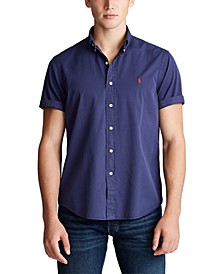 Men's Big & Tall Garment-Dyed Twill Shirt