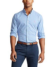 Men's Big & Tall Classic Fit Tattersall Shirt