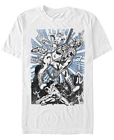 Men's Avengers Classic Spider-Man Kanji, Short Sleeve T-Shirt