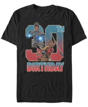 Fifth Sun Men's Marvel Black Panther Shuri and Okoye 30th Birthday Short Sleeve T-Shirt