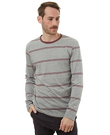 Men's Soft Long Sleeve Stripe Tee