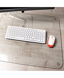 Desktex Glacier Mat Glass Desk Pad