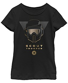 Big Girls Fallen Order Golden Scout Trooper Short Sleeve T-Shirt